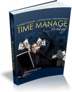 Ebook cover: Time Manage Strategy