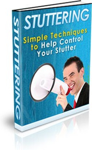 Ebook cover: Stuttering - Simple Techniques to Help Control Your Stutter
