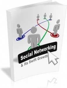 Ebook cover: Social Networking and Its Swift Growth