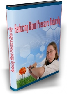 Ebook cover: Reducing Blood Pressure Naturally