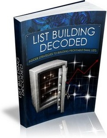Ebook cover: List Building Decoded