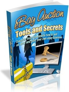 Ebook cover: eBay Auction Tools and Secrets