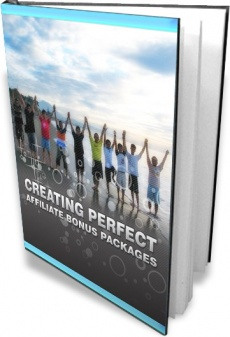 Ebook cover: Creating Perfect Affiliate Bonus Packages