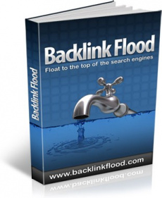 Ebook cover: Backlink Flood