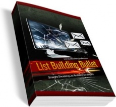 Ebook cover: List Building Bullet