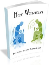 Ebook cover: Workaholics - The Modern Internet Business Insight