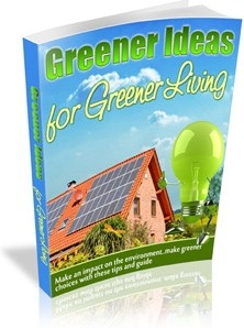 Ebook cover: Greener Living For a Greener World