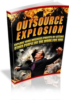 Ebook cover: Outsource explosion