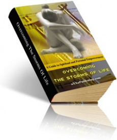 Ebook cover: Overcoming The Storms Of Life