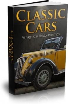 Ebook cover: Classic Car Restoration