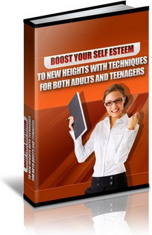 Ebook cover: Boost Your Self Esteem