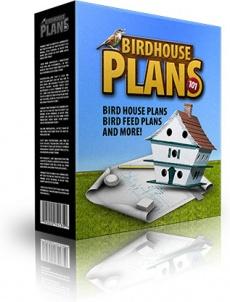 Ebook cover: Bird House Plans