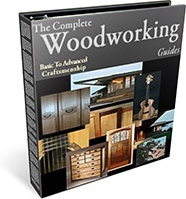 Ebook cover: The Complete Woodworking Guides