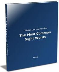 Ebook cover: The Most Common Sight Words