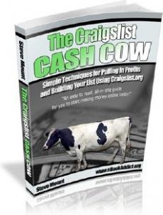 Ebook cover: The Craigslist Cash Cow