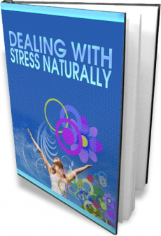 Ebook cover: Dealing With Stress Naturally