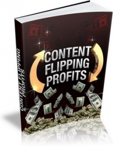 Ebook cover: Content Flipping Profits