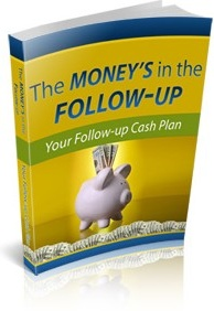Ebook cover: The Money's in the Follow Up