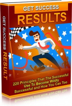 Ebook cover: Get Success Results