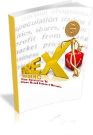 Ebook cover: Forex Trading - New Revolution To Home Based Internet Business