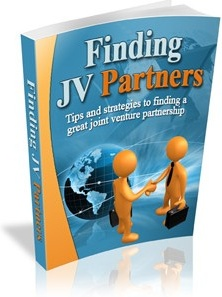 Ebook cover: Finding JV Partners