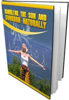 Ebook cover: Handling the Sun and Sunburn Naturally