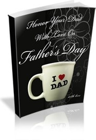 Ebook cover: Honor Your Dad With Love On Father's Day