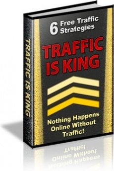 Ebook cover: Traffic Is King