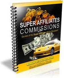 Ebook cover: Super Affiliate Commissions