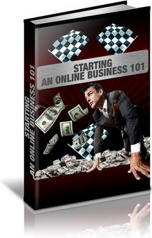 Ebook cover: Starting an Online Business 101