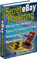 Ebook cover: Secret eBay Marketing