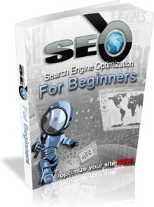 Ebook cover: SEO For Beginners
