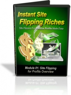 Ebook cover: Instant Site Flipping Riches
