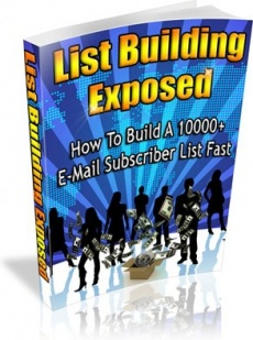 Ebook cover: List Building Exposed