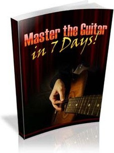 Ebook cover: Master the Guitar in 7 Days