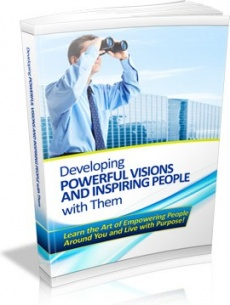 Ebook cover: Developing Powerful Visions And Inspiring People with Them