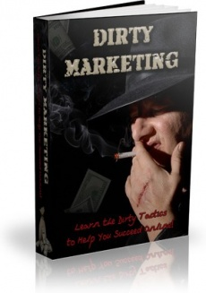 Ebook cover: Dirty Marketing