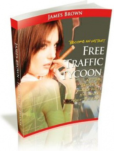 Ebook cover: Free Traffic Tycoon
