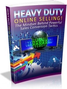 Ebook cover: Heavy Duty Online Selling
