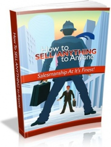 Ebook cover: How to Sell Anything to Anyone