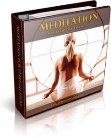 Ebook cover: Meditation for Everyday Living