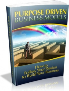 Ebook cover: Purpose Driven Business Models