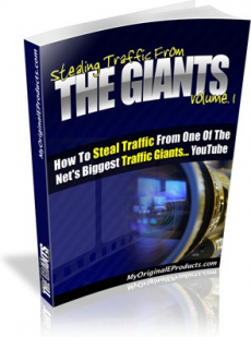 Ebook cover: Stealing Traffic From The Giants