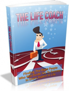 Ebook cover: The Life Coach