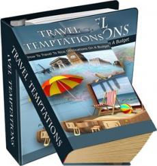 Ebook cover: Travel Temptations!