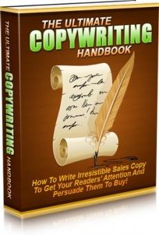 Ebook cover: The Ultimate Copywriting Handbook