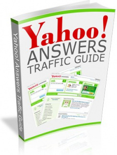 Ebook cover: The Yahoo! Answers Traffic Guide