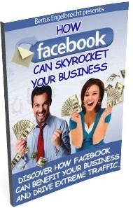 Ebook cover: How Facebook Can Skyrocket Your Business