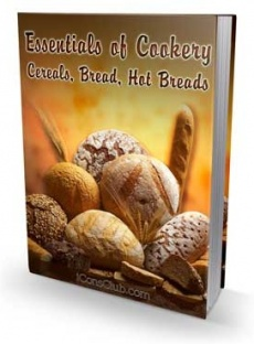 Ebook cover: Essentials of Cookery Cereals, Bread, Hot Breads