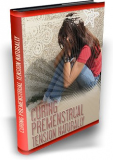 Ebook cover: Curing Premenstrual Tension Naturally